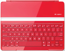 Logitech Ultrathin Bluetooth Keyboard Cover for iPad 2 RED (IL/RT5-920-004917...