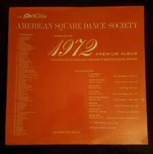 1972 Premium Album LP American Square Dance Society 1971 Promo sealed new album