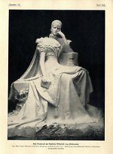 Monument de l'Impératrice Elisabeth d'Autriche à Territet surtout Chiattone c.1902