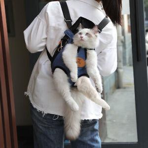 Pet Cat Carrier Fashion Travel Bag Dog Backpack Breathable Pet Bags ShoulderBZT