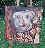 "Matt Lamb Original Painting;  24"" x 24"", Artist signed and dated lower left"