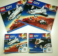 LEGO City 60226 and 60224 Mars Research Shuttle - Manuals Only