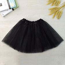 Girls Ballet Dance Dress Tutu Skirt Children's Princess Mesh Dancewear Costume