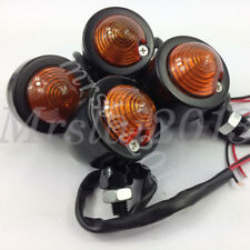 4Pcs Motorcycle Turn Signal Indicators Light Bulb For Harley Bobber Cafe Racer