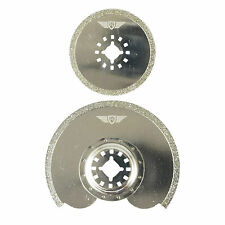 2x Topstools Diamond Blades for Fein Multimaster Bosch Makita Ryobi Multitool