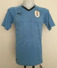 URUGUAY 2017/18 S/S HOME SHIRT BY PUMA SIZE MEN'S LARGE BRAND NEW WITH TAGS