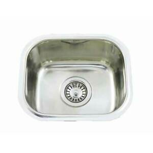 Small Bar single BOWL Inset Kitchen SINK Stainless Steel TUB CM3 15L 340x290x130