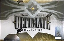 2016-17 UPPER DECK ULTIMATE COLLECTION HOCKEY HOBBY BOX