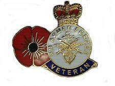 HM Armed Forces Veteran Lapel Poppy Remenbrance Military Badge