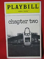 "PLAYBILL PROGRAM THEATRE GUIDE FEB. 1978 NEIL SIMON'S ""CHAPTER TWO"""
