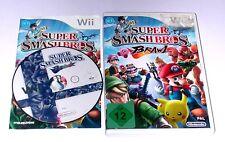 """Nintendo Wii juego """"Super Smash Bros Brawl"""" completamente"""
