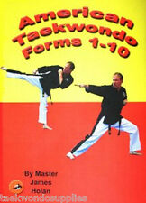 Taekwondo Forms Kata Training DVD / Video karate