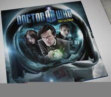 Doctor Who Calender 2012 - Math Smith Karen Gillan Arthur Darvill Dalek Cybeman