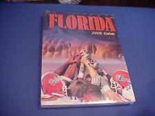 2001 University of Florida Football Media Guide
