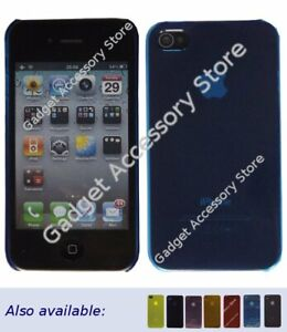 Ultra Slim Lightweight Crystal Clear Plastic Case for Apple iPhone 4