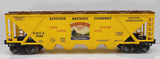 RMT/READY MADE TRAINS 4-BAY COV. HOPPER HORSESHOE CURVE BEER O GAUGE