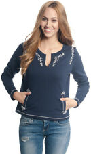 Vive Maria CUTE SAILOR Vintage Floral Embroidery Pullover SWEATER Rockabilly