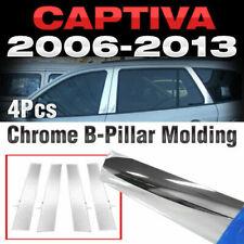 Chrome PVC B Pillar Garnish Molding Trim A665 For CHEVROLET 2006-2015 Captiva