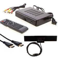 HDTV Digital Converter Box Flat Digital Indoor TV Antenna Hdmi 25 Miles