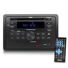 RV Wall Mount AV Stereo Bluetooth , CD/DVD Player, AUX/MP3/USB