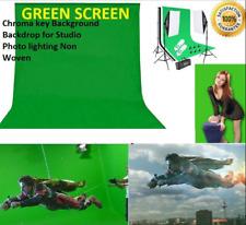 Photography Custom length studio Green Screen Chroma key Background Backdrop