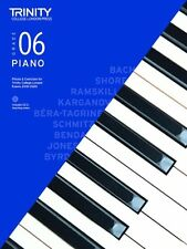 Trinity Piano 2018-2020 Grade 6 Book Only Pieces & Exercises Tcl016645
