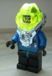 Lego Figurine PLONGEUR Aquazone Hydronauts  set 6110 6180  aqu 011