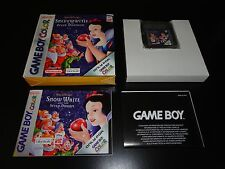 Snow White and the Seven Dwarfs Complete GBC Europe PAL Game Boy Color