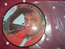 Rick Springfield ‎– Human Touch RCA Records  RICK 1 UK 7inch Picture Disc