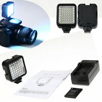 4W 36 LED Video Studio Panel Light + Battery + Charger for Canon DSLR Camera Hot