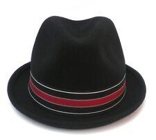Sombrero De Hombre Gorro Lana Elegante Trilby FEDORA para damenhute Ocasión