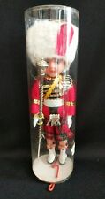 Vintage Plastic DollHighland Dress Ornaments with Bagpipes