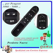Pulsantiera Alzacristalli Elettrico Interruttore Peugeot 3008 1 serie 96650620ZD