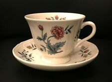 Four Wedgwood of Etruria & Barlaston Potpourri Cup and Saucer Pairs