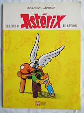 LE LIVRE D'ASTERIX RARE ALBUM ILLUSTRE 1999 SUPER RARE !!!!!!!!