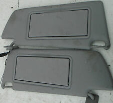 2008 VAUXHALL VECTRA ESTATE 5DR DRIVERS AND PASSENGER SIDE FRONT SUN VISORS GREY