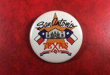 Pin Button Badge SAN ANTONIO TEXAS. Metal. JAS1989.