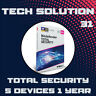 Bitdefender Total Security 2020 5 Devices 1 Year + Support + Proof of Genuine