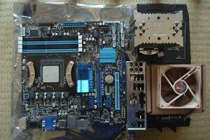 ASUS M5A88-M EVO Motherboard + AMD FX8150 CPU + Noctua NH-U9BSE2 Cooler