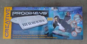 CREATIVE LABS PRODIKEYS ALL IN ONE MUSIC AND PC KEYBOARD PKEYSSP NEW BNIB SEALED