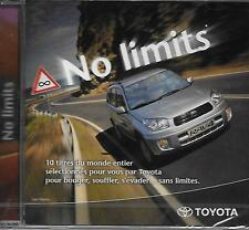 CD album: Compilation: No Limits. Toyota. Universal. Y
