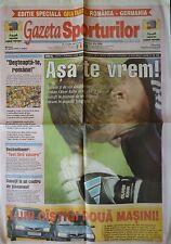 Gazeta LS 28.4.2004 Romania Rumänien - Deutschland