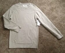 $54 MODERN AMUSEMENT PacSun Mens Size Small Oatmeal Pullover Sweater NWT New