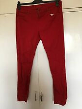 Ladies Red Jeans From Next Size 18R NWOT