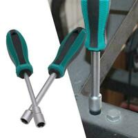 Socket Wrench Screw Driver Metal Hex Nut Key Hand Tool Screwdriver Q9H6