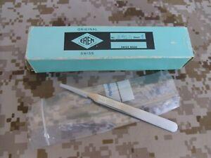 Original EREM Instruments 2asa Anti-Acid Round Tip Precision Tweezer