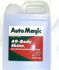 CLEANER BODY SHINE® by Auto Magic, DIRT REMOVER & BEST LUBRICANT FOR CLAY, 1 GAL