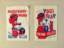 Vintage 1977 Hanna Barbera Yogi Bear and Huckleberry Hound Fortune Teller