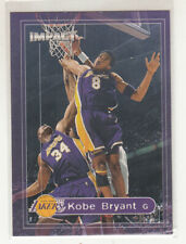 KOBE BRYANT 1999-00 Skybox Impact #50 LA Lakers MINT Shaquille O'Neal cameo
