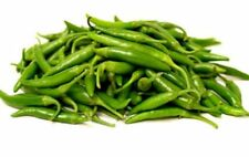 Green Chilies/ Fresh HOT Small Green Chilies-200g (Free UK Post)